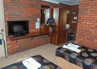 Twin single Motel Room Maryborough