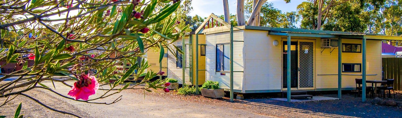 Maryborough Motel and caravan park cheap accommodation