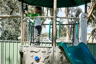 Golden Country Caravan Park Maryborough, Kids playground _