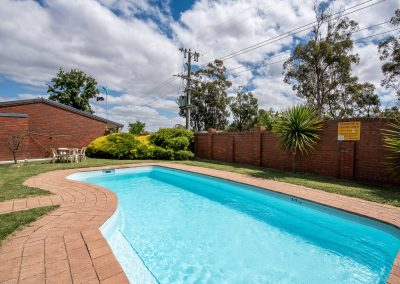 heated Pool at Golden Country Motel Maryborough